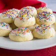 Auntie mella's italian soft anise cookies; Italian Cookies Vanilla Or Anisette Italian Anise Cookies Anise Cookies Italian Lemon Cookies