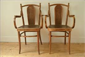vintage bentwood armchair kohn thonet chair made in austria set of 2 photo 1