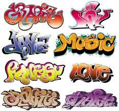 Graffiti Font Free Beautiful Graffiti Font Design 03 Vector Free Vector In