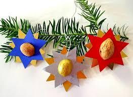 Sterne Mit Nussschalen Weihnachten Basteln Meine Enkel