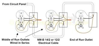 wiring diagram for outlets in series wiring image how to connect 2 ground wires 1 outlet on wiring diagram for outlets in series