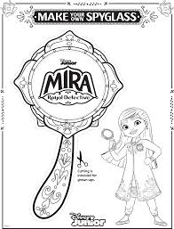 Just checked the submission page and noticed a frost giant. Enjoy These Three Mira Royal Detective Coloring Sheets Disney News