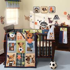 sport theme crib bedding for boys