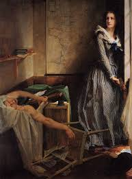 charlotte corday under the second empire marat was seen as a revolutionary monster and corday as a heroine of as indicated by her location in