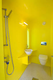 Bathroom Impressive Yellow Bathroom Decor Working With White And - Yellow and white bathroom
