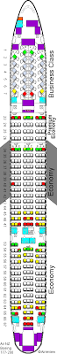 air new zealand 777 200 seat map air
