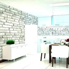 white faux brick panels bedroom wall vintage wallpaper canada wal