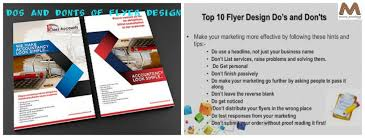 how to make a good flyer for your business dos and donts of flyer design flyer printing toronto mississauga