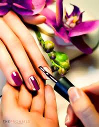 regular polish on hands