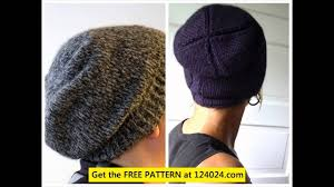 Mens Beanie Knitting Pattern Awesome How To Knit A Slouchy Beanie Free Beanie Knitting Pattern Knit