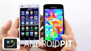 Sony Xperia Z3 Compact vs Samsung Galaxy S5 Mini - YouTube