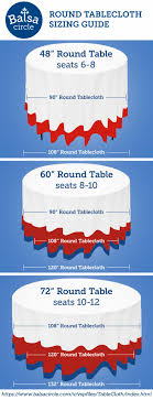 Table Cloth For Round Table 17 Best Ideas About Tablecloth Sizes On Pinterest Wedding Table