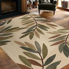 weavers area rugs leaf pattern astound ornate expressions ina