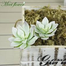 home office green themes decorating. Simulation Mini Succulents Lotus Plants Fake Flower Arrangement Grass Desert Artificial Plant Landscape Garden Home Office Decor-in \u0026 Dried Green Themes Decorating