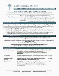 Rn New Grad Resume Elegant New Grad Rn Resume Sample Yeniscale