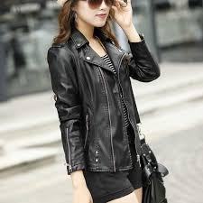 plus size womens leather biker jackets cairoamani com