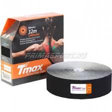 <b>Tmax EXTRA</b> STICKY BLACK 32m <b>Тейп</b> кинезио 423242 | Кинезио ...