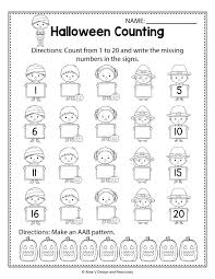Math Worksheets Grade Hidden Picture 2 Of Free Halloween Sequencing ...