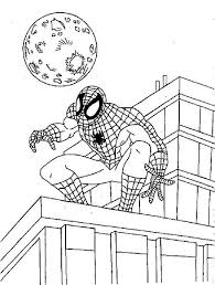 Spiderman Coloring Pages Pdf Spiderman Coloring Coloring