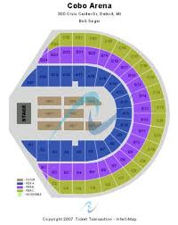 Cobo Hall Seating Chart Cobo Arena Tickets And Cobo Arena Seating Chart Buy Cobo