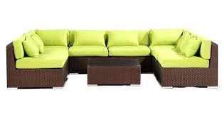 patio furniture oahu outdoor hawaii 9 espresso wicker lime green