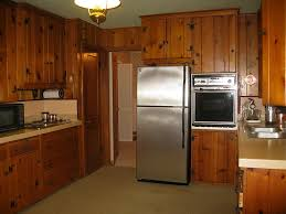 Pine Kitchen Cabinets For Dark Knotty Pine Kitchen Cabinets Quicuacom