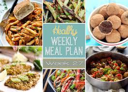 Light Supper Ideas Healthy Weekly Meal Plan Light Easy Dinner Ideas