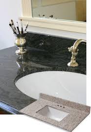 A Granite Bathroom Vanity Tops