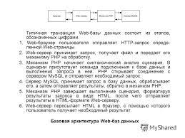 Презентация на тему ТЕМА ДИПЛОМНОЙ РАБОТЫ ИНТЕРНЕТ МАГАЗИН ДЛЯ  8 Типичная транзакция