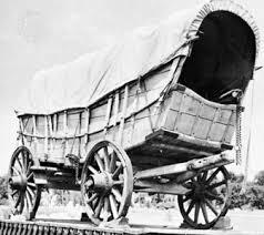black and white covered wagon. conestoga wagon black and white covered