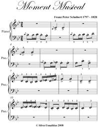 musical sheet moment musical beginner piano sheet music ebook by franz schubert