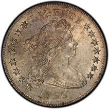 1796 Draped Bust Silver Dollar Values And Prices Past