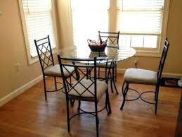 mainstays wood and metal dining set crown
