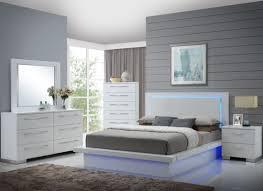 platform bed bedroom sets. Wonderful Bed Sapphire High Gloss White Laminate Platform Bedroom Set Media Gallery  For Bed Sets F