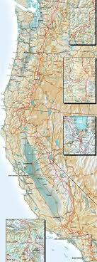 Elevation Charts And Map Of The Pacific Crest Trail