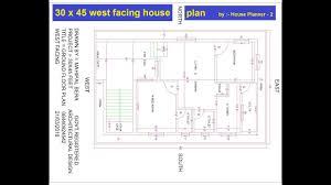 30 x 45 feet best west facing house plans best west facing house plan house planner 2
