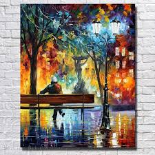 hand painted the man night light rest oil painting beautiful oil paintings on canvas for living