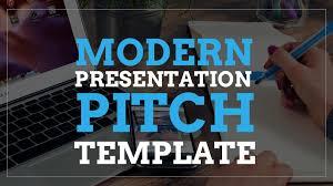 Google Slide Template Download Modern Presentation Pitch Template Free Google Slides
