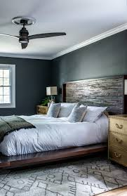 Black Bedroom, platform bed | Scout & Nimble