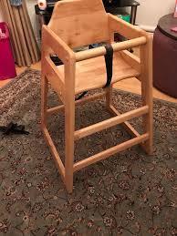 kids wooden high chair 10