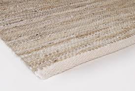 leather rugs design aspegren solid sand