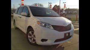 NEW 2017 Toyota Sienna Base 7 Passenger FWD Review / 1000 Islands ...