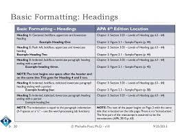 Apa Format 6th Edition Citation Templates Resume