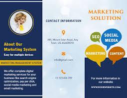 Brochures Free Brochure Maker Create Custom Brochure Online Photoadking