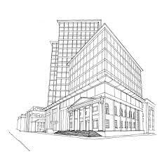 architectural drawings of buildings.  Buildings Building Art On Architectural Drawings Of Buildings H