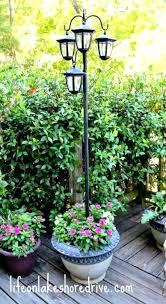 solar outdoor post lights lamp paradise garden cap light