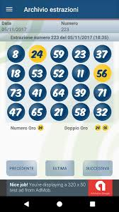Dieci e Lotto Archivio estrazioni e statistiche (2020)