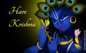3D Tapete Des Namen Krishna - Krishna ...