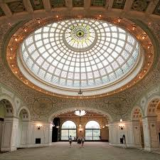 preston bradley hall featuring the world s largest stained glass tiffany dome chicago 2017 iker gil