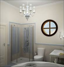 small bath design for comfy bathroom inspiring cool small bathroom ideas with nice chandeliers and